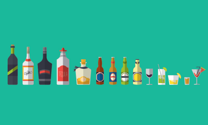 Let's first talk about alcohol's many qualities.