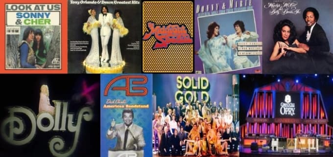 Variety shows and musical broadcasts of a bygone era