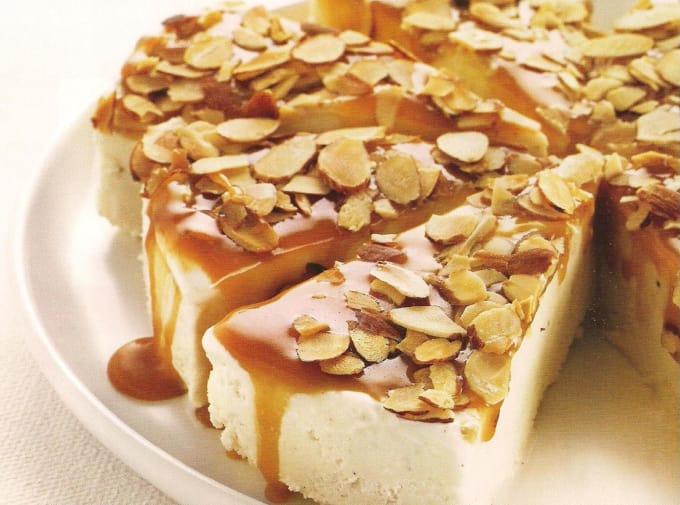 Caramel-Almond Ice Cream Torte