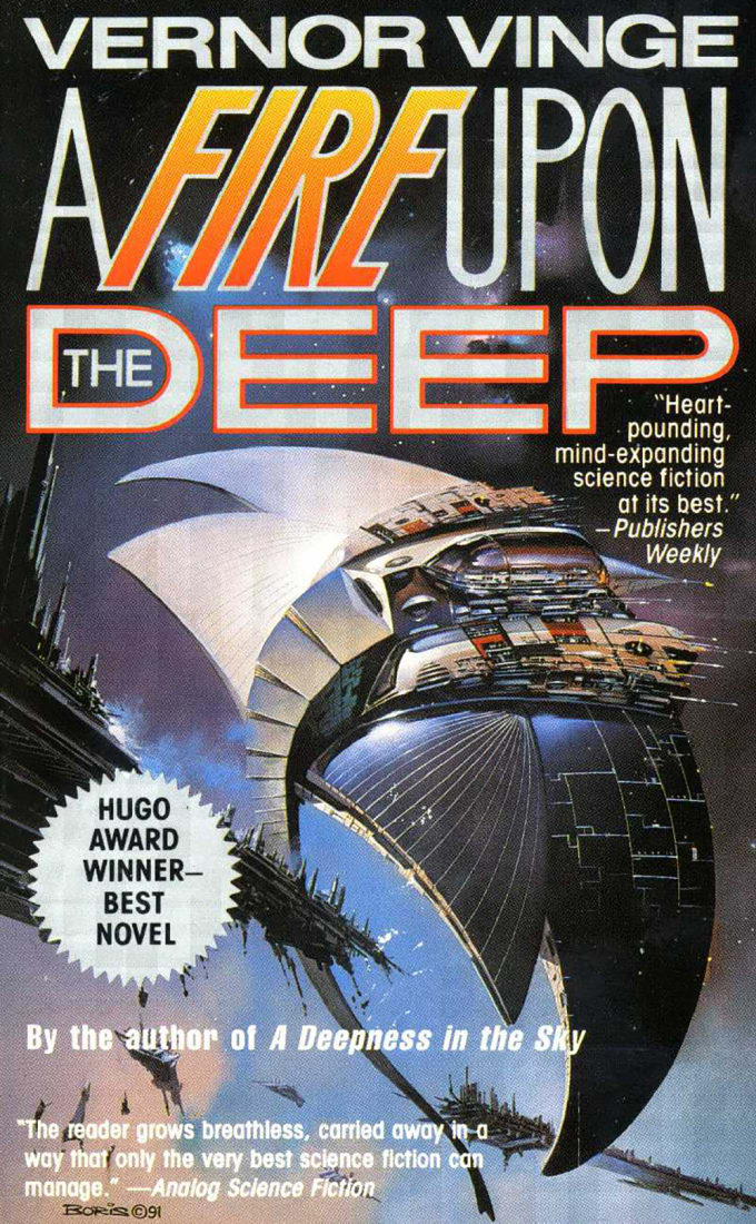A Fire Upon the Deep by Vernor Vinge