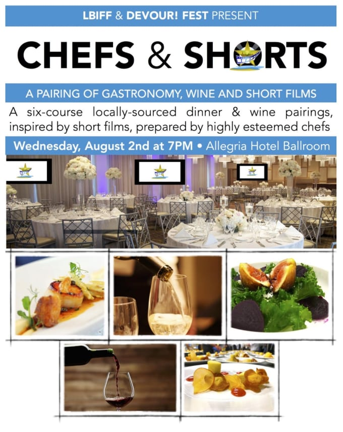 Chefs & Shorts - August 2nd