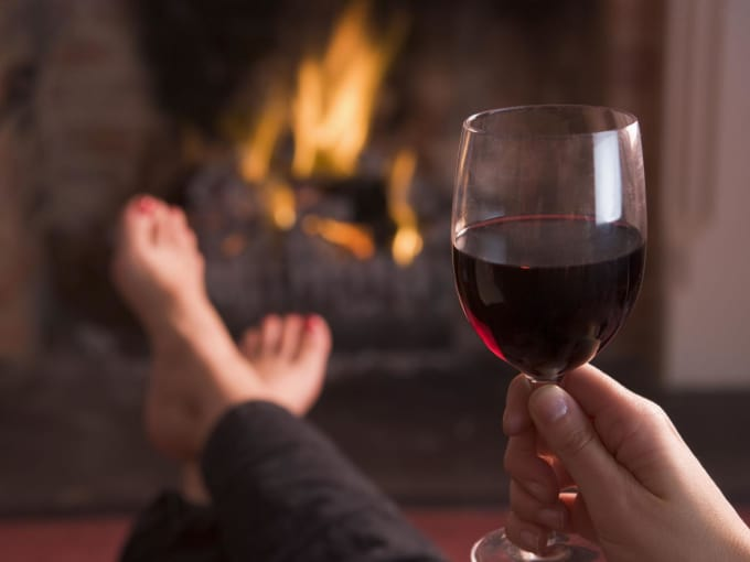 Red Wine: 140 - 200 (Per 6 Ounces)