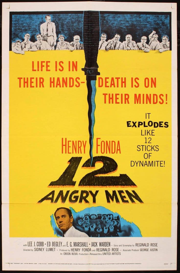 12 Angry Men Take a Turn at Law and Order