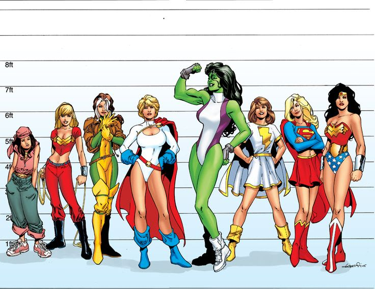 The top 10 female superheroes part 2 who will be the - Female cartoon characters wallpapers ...
