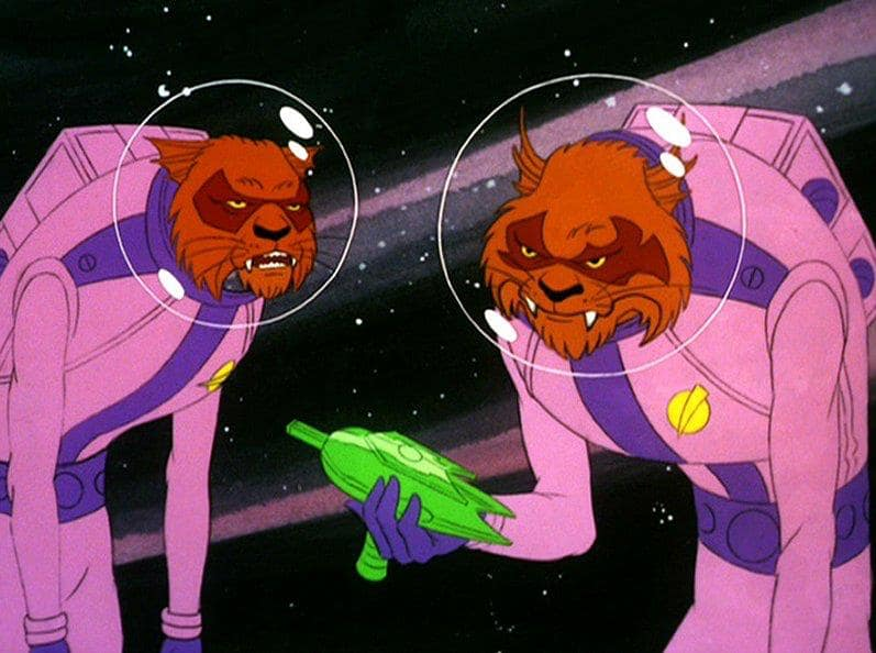 Kzinti - as depicted in Star Trek the Animated Series