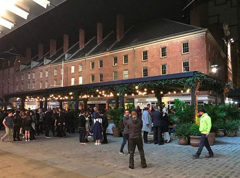 Clinton Hall's newest location at South Street Seaport
