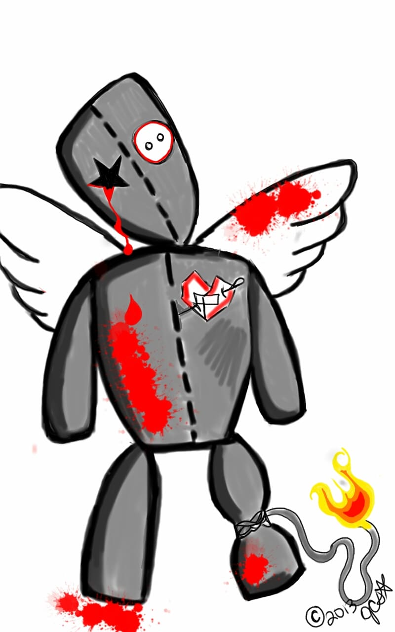 The Angel of War's Voodoo Doll