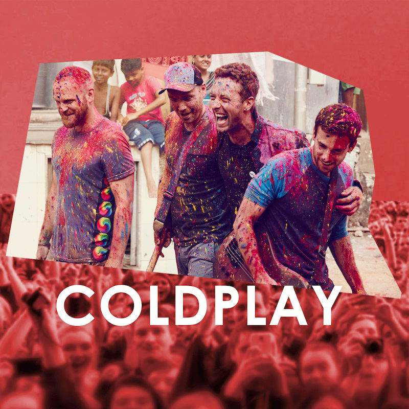 Credit: Coldplay