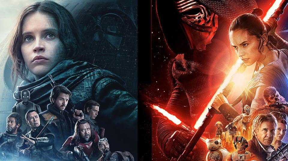 The Two Star Wars.  Apart from being set in the same universe and each being centered around a strong female protagonist, there is very little these two movies have in common.