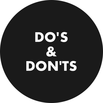 Dating: Do's & Don'ts