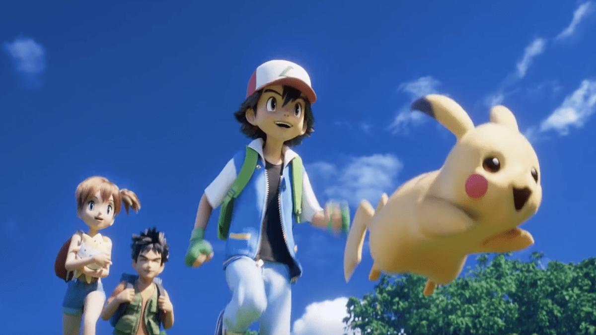 Pokemon Mewtwo Strikes Back Evolution Movie Review