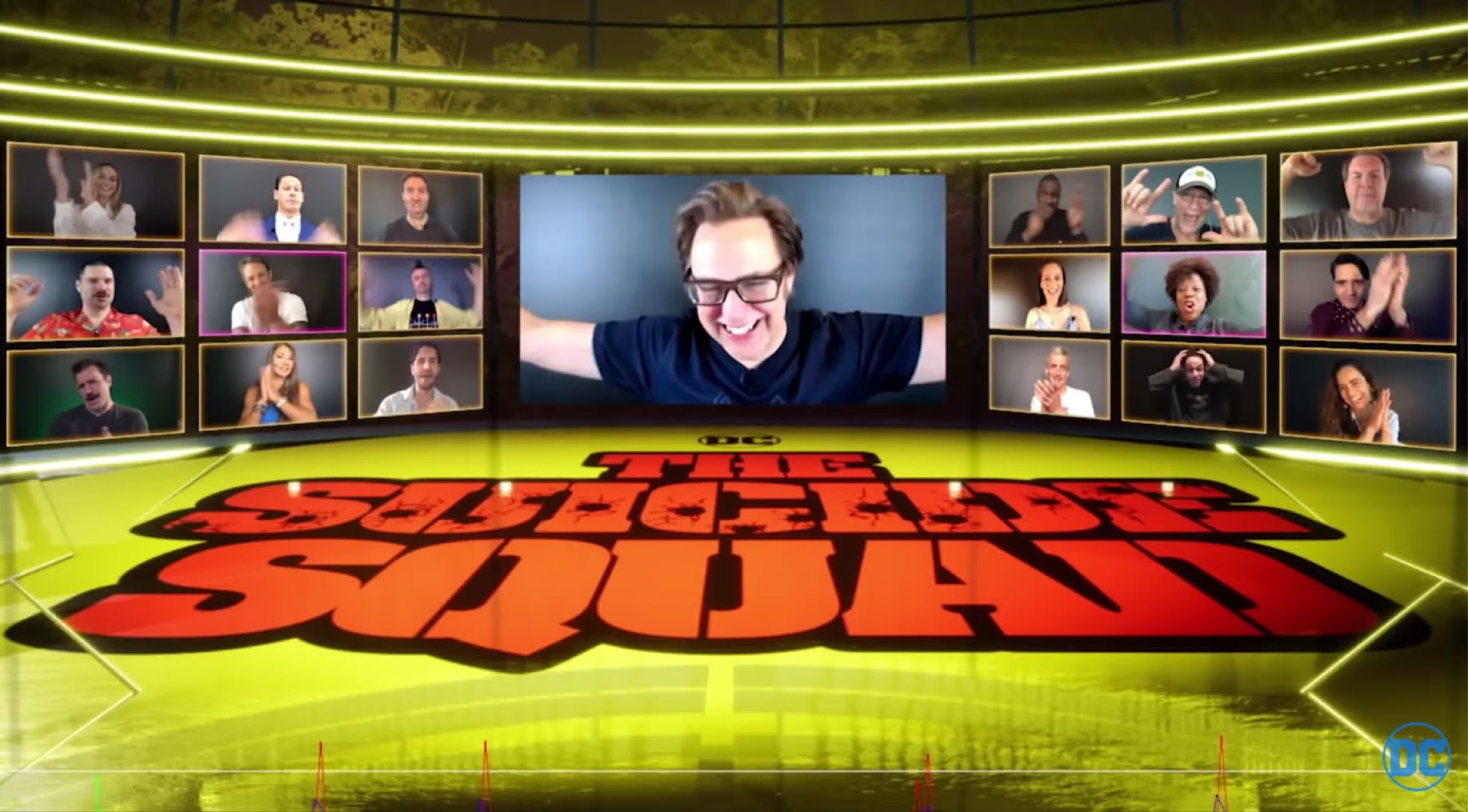 James Gunn Provides Glimpse of DC FanDome's 'The Suicide Squad' Panel