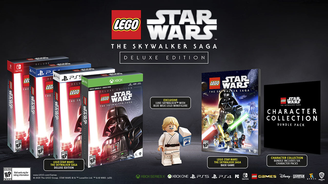 deluxe edition revealed for 'star wars the skywalker saga