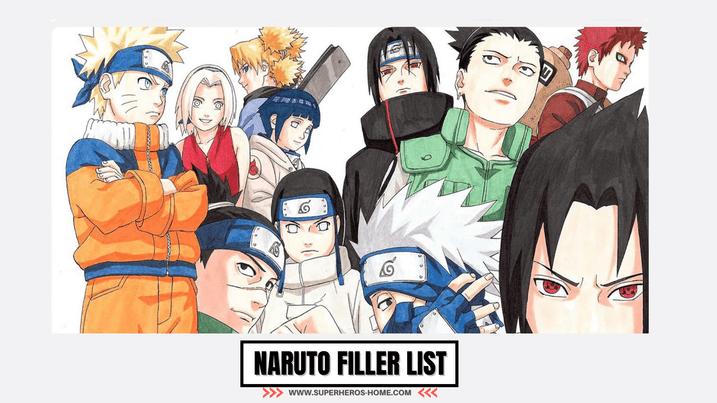 Naruto Shippuden Filler List - Naruto Shippuden Anime Guide