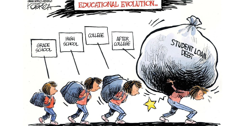 Education Political Cartoons | Quan Nguyen