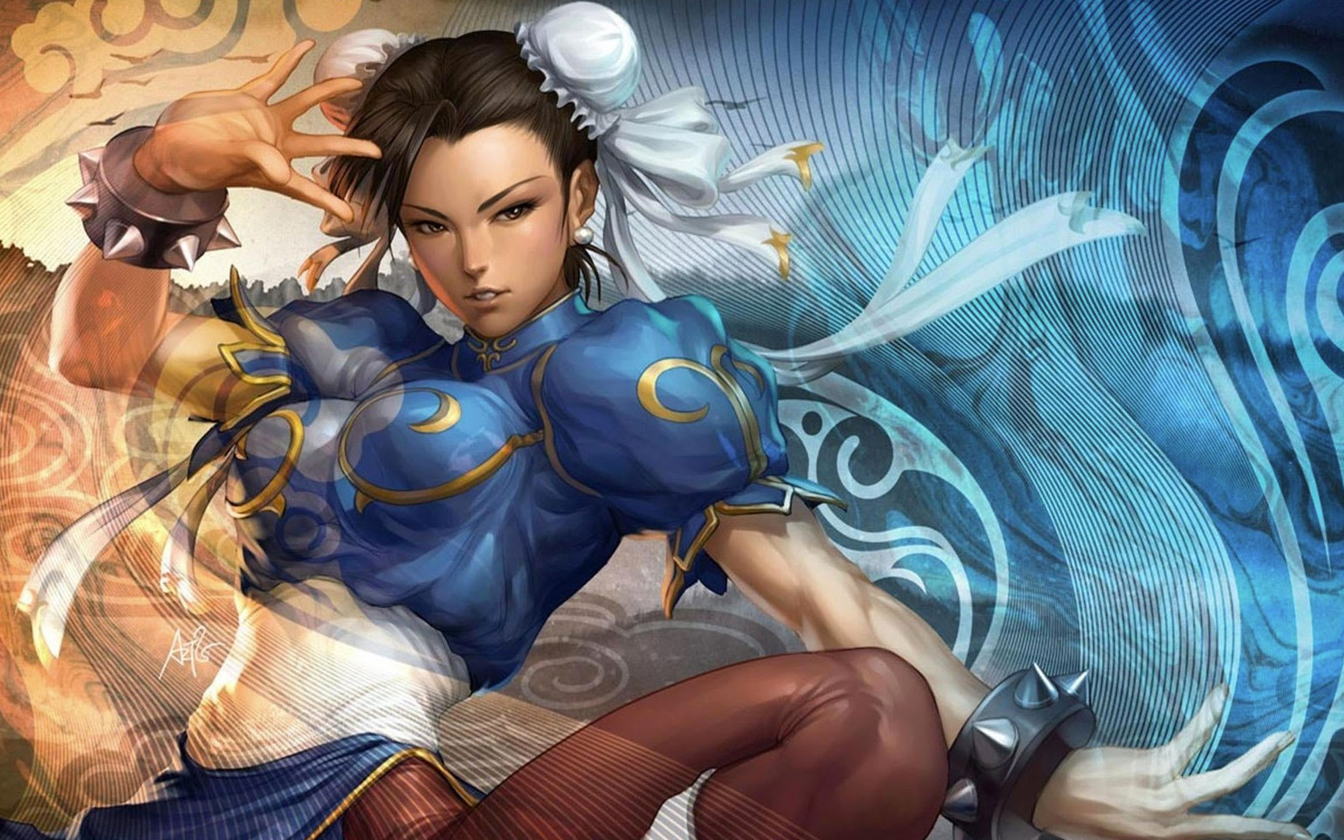 street fighter chun li artwork
