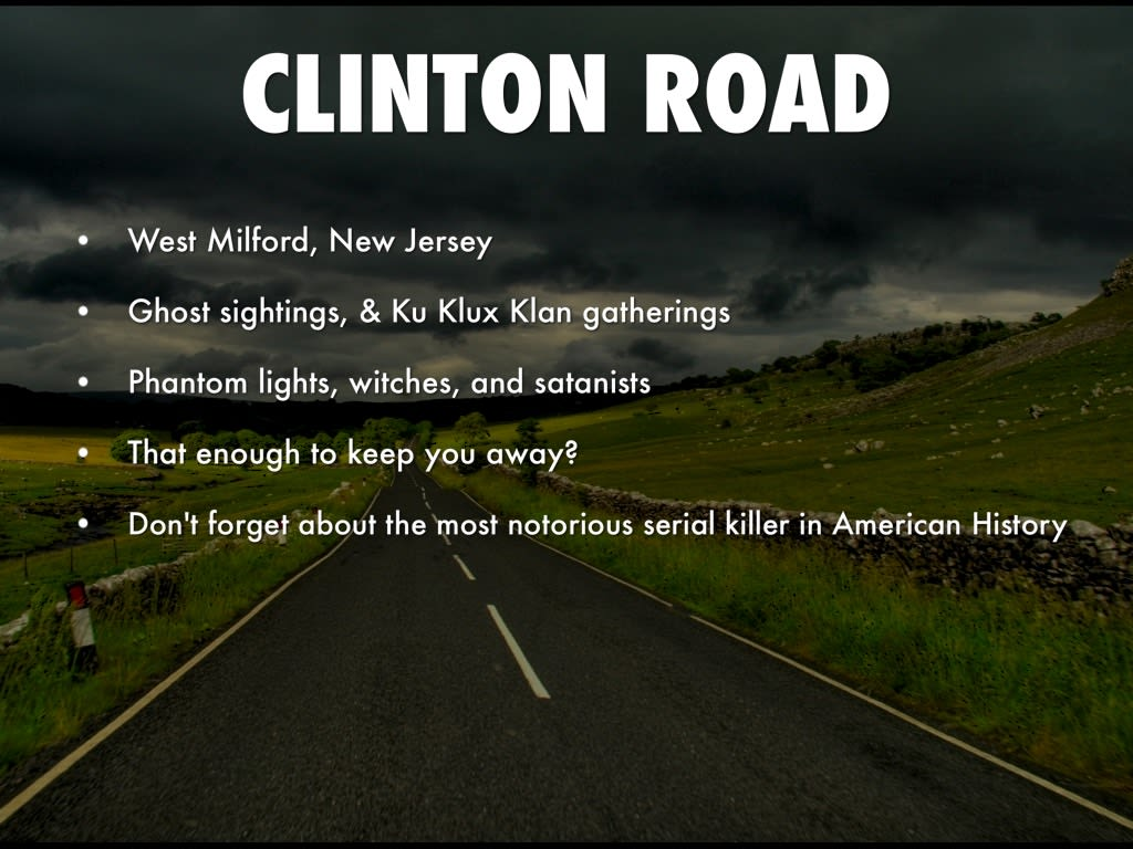 Clinton Road Fact Or Fiction Horror