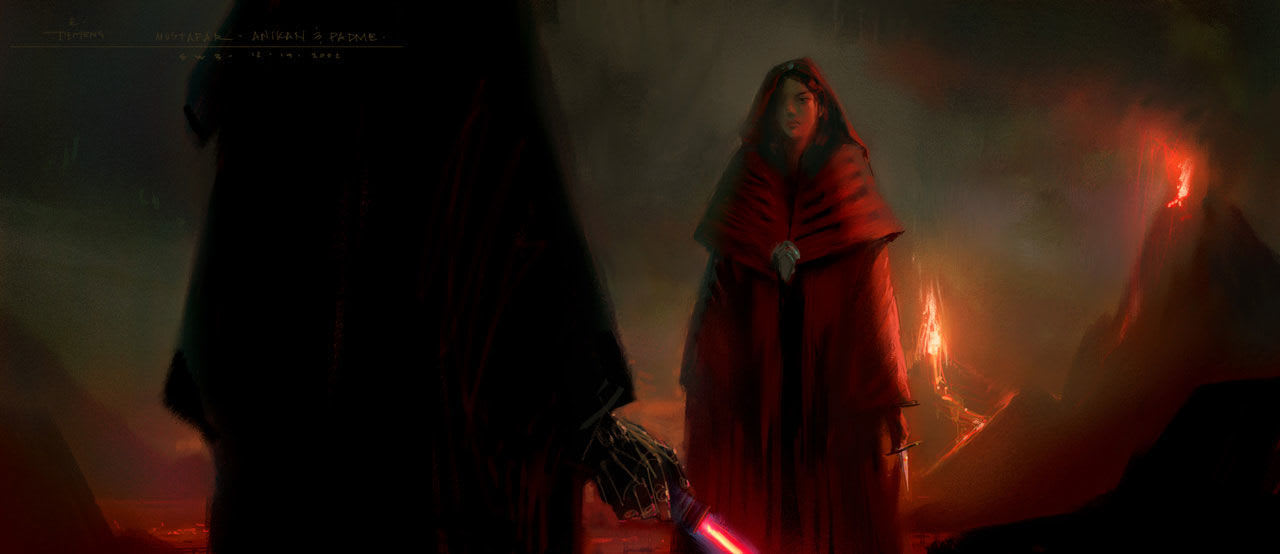 Star Wars Revenge Of The Sith Original Ending Featured A Tragic Twist For Padme That Would Ve Transformed The Saga