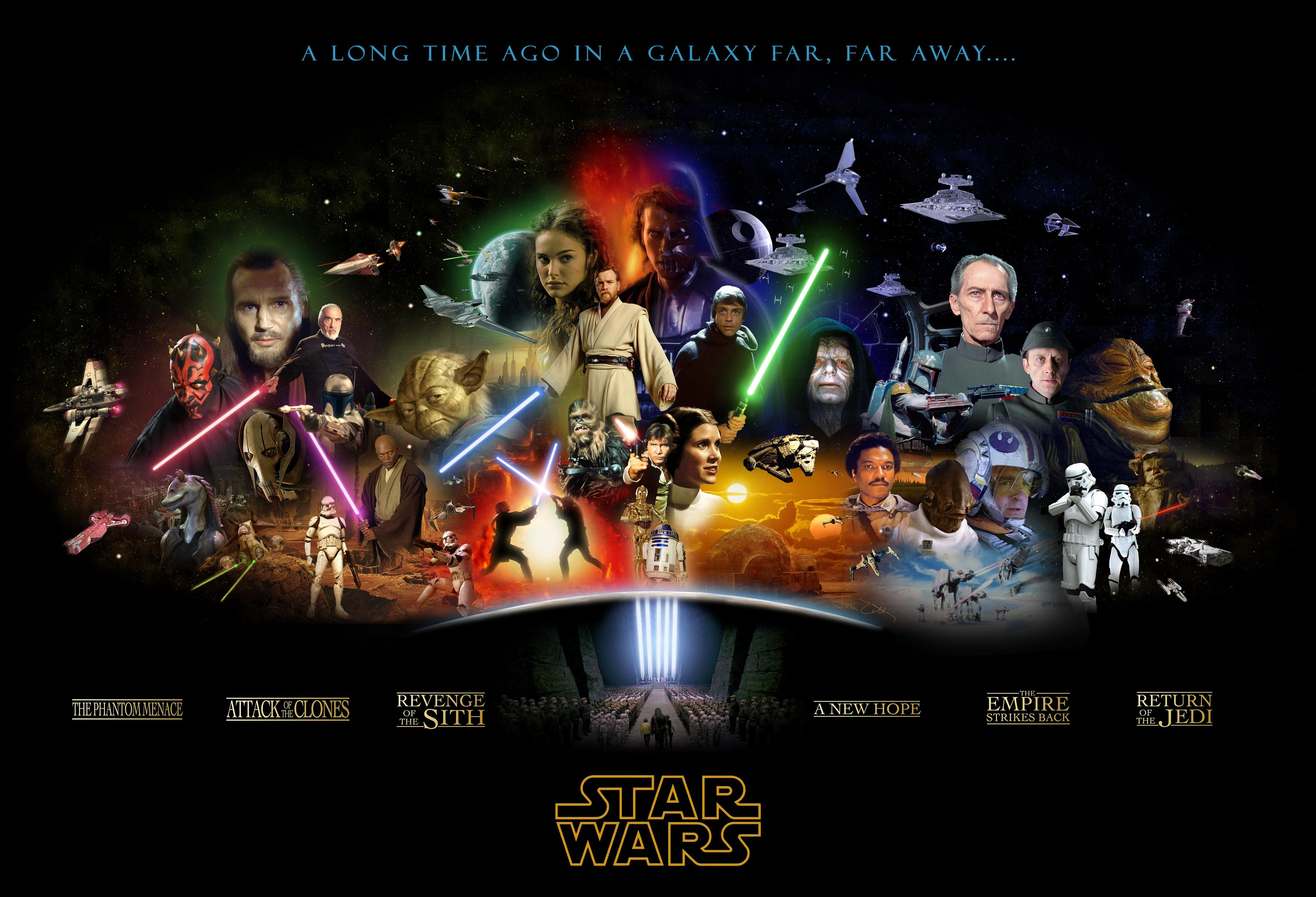 My Personal Ranking Of Star Wars Movies