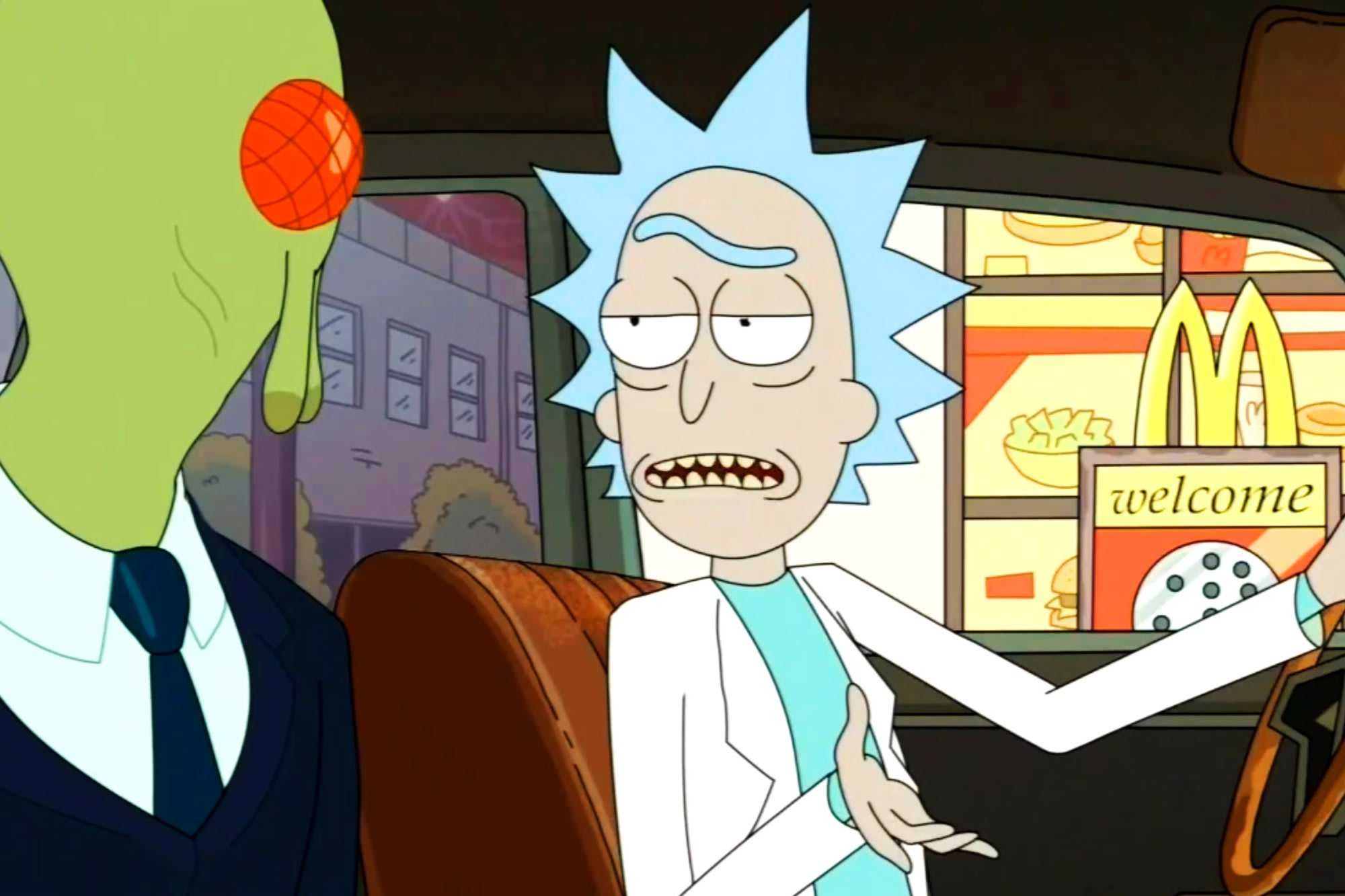 Rick in this scene really represents me right now. What