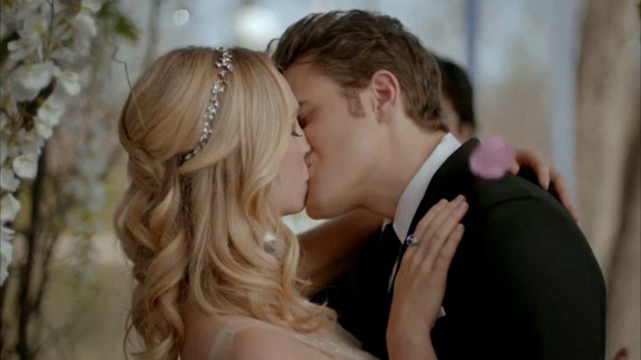 The Vampire Diaries Season 7 A Baby For Stefan And Caroline