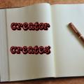 Creator Creates