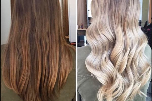 How To: Go from Dark Brown to Blonde With Minimal Damage | Blush
