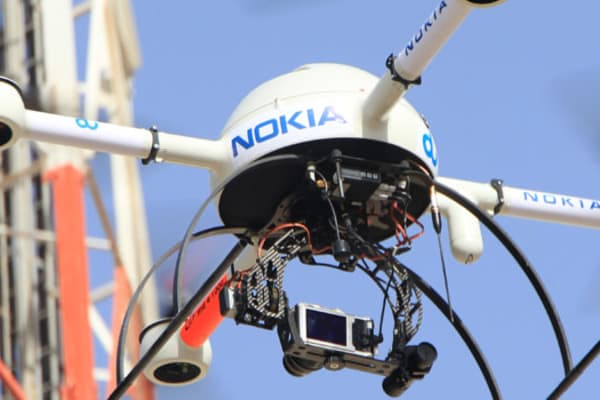 Nokia's Drones and LTE Connectivity for Public Safety at MWC