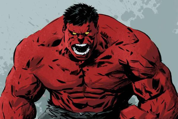 Resultado de imagem para red hulk marvel