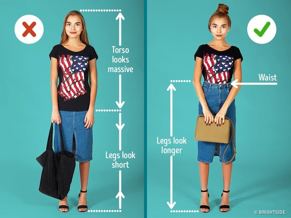 a style guide for petite girls lifehack