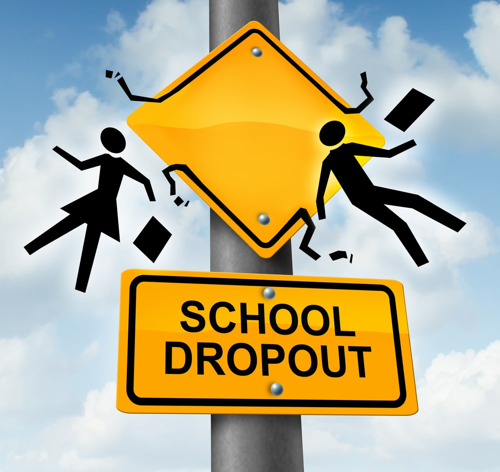 dropout of school causes and effects