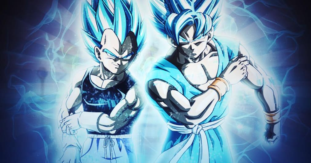 dragon ball super how goku vegeta become super saiyan blue geeks