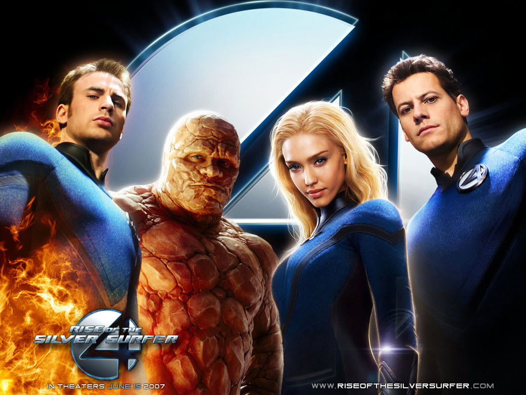 I Thought That It Would Be Interesting To Look Back On The Second Attempt At Making The Fantastic Four Into A Superhero Movie