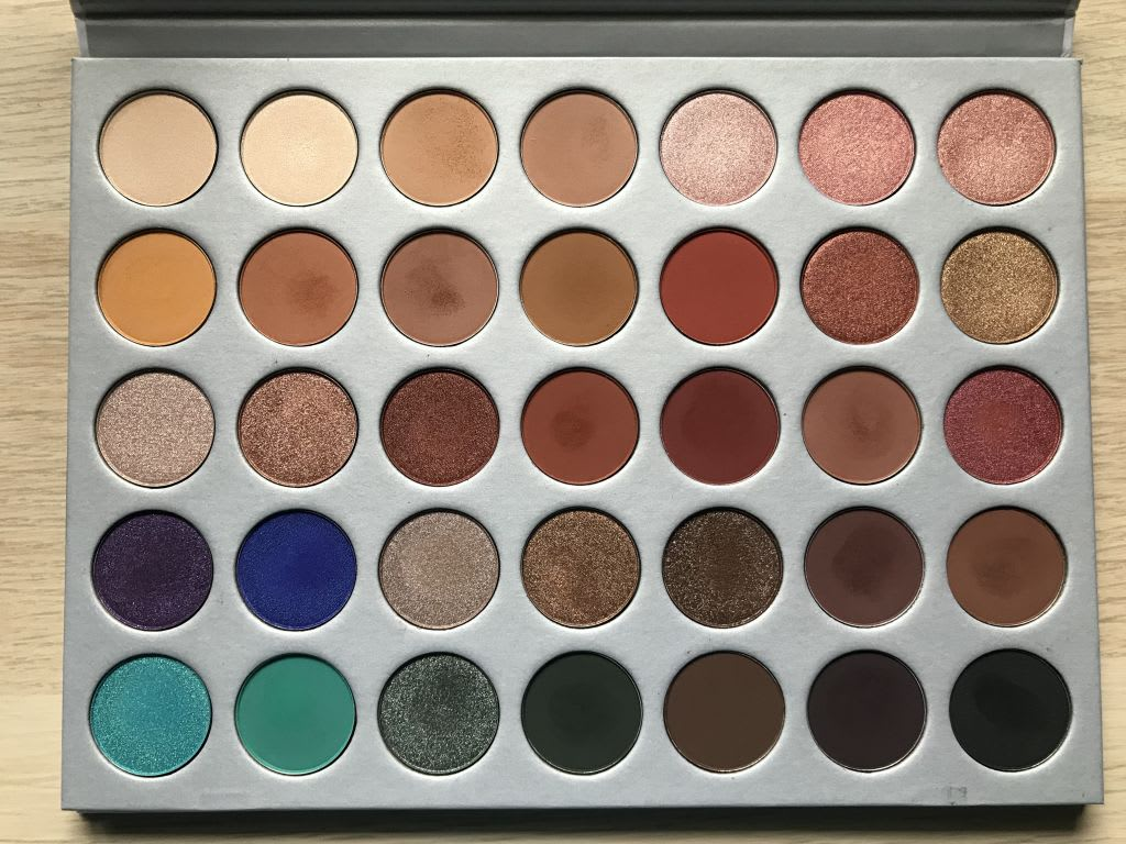Jaclyn hill morphe review