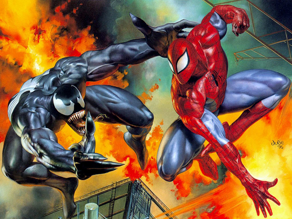 Image Hunting Venom vs Spiderman