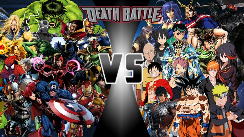 If Anime Took on the Marvel Universe | Geeks