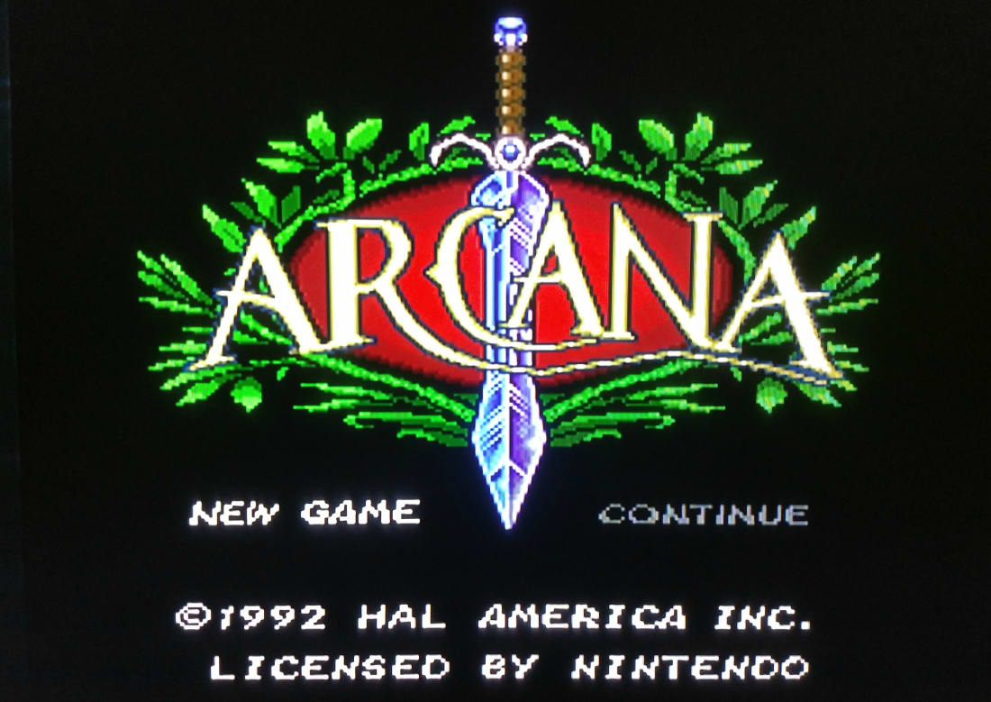 Arcana' for the SNES   Gamers