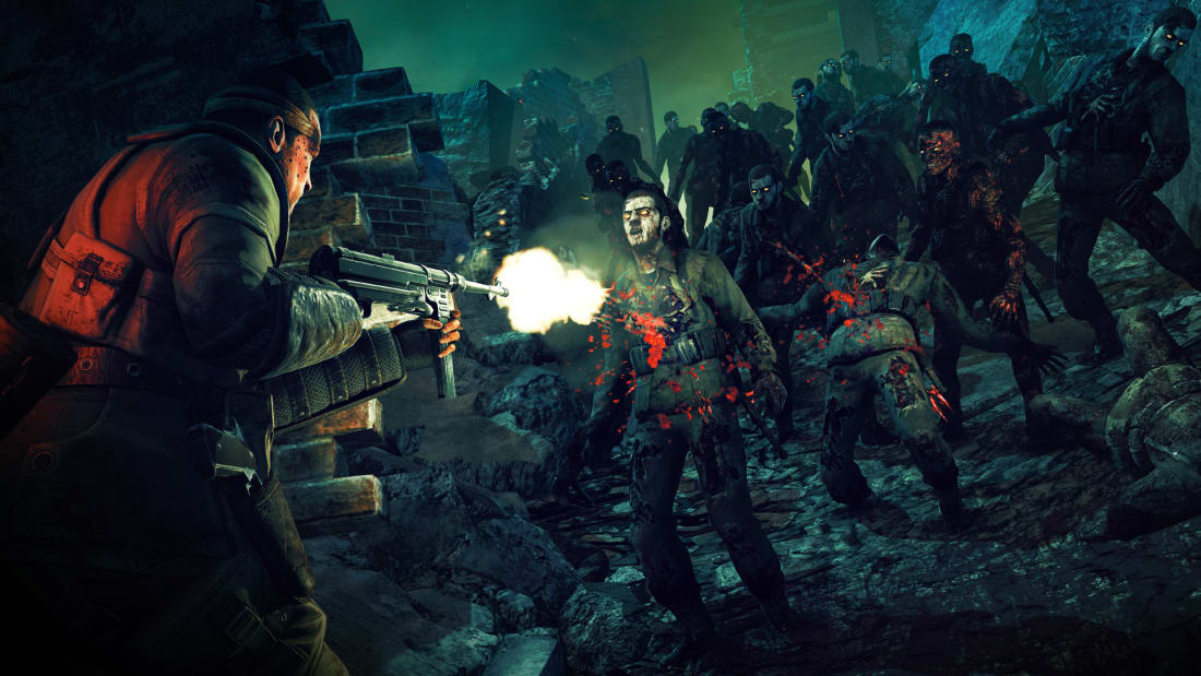 2 player zombie games ps4