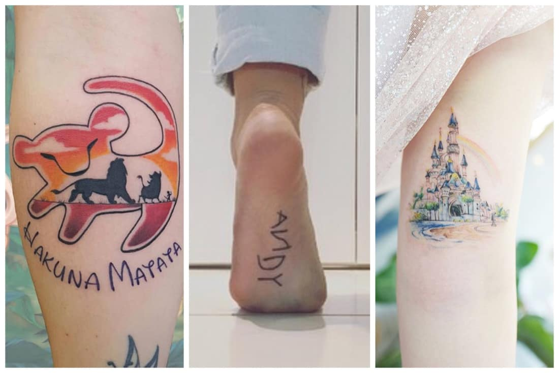 7f601e4600961 Disney Tattoos So Magical You'll Immediately Want to Get One | Geeks