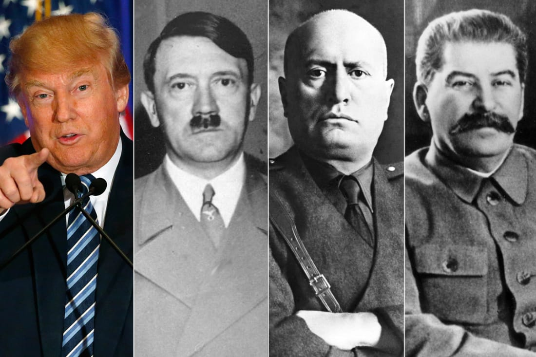 the fourteen points of fascism and our president the swamp