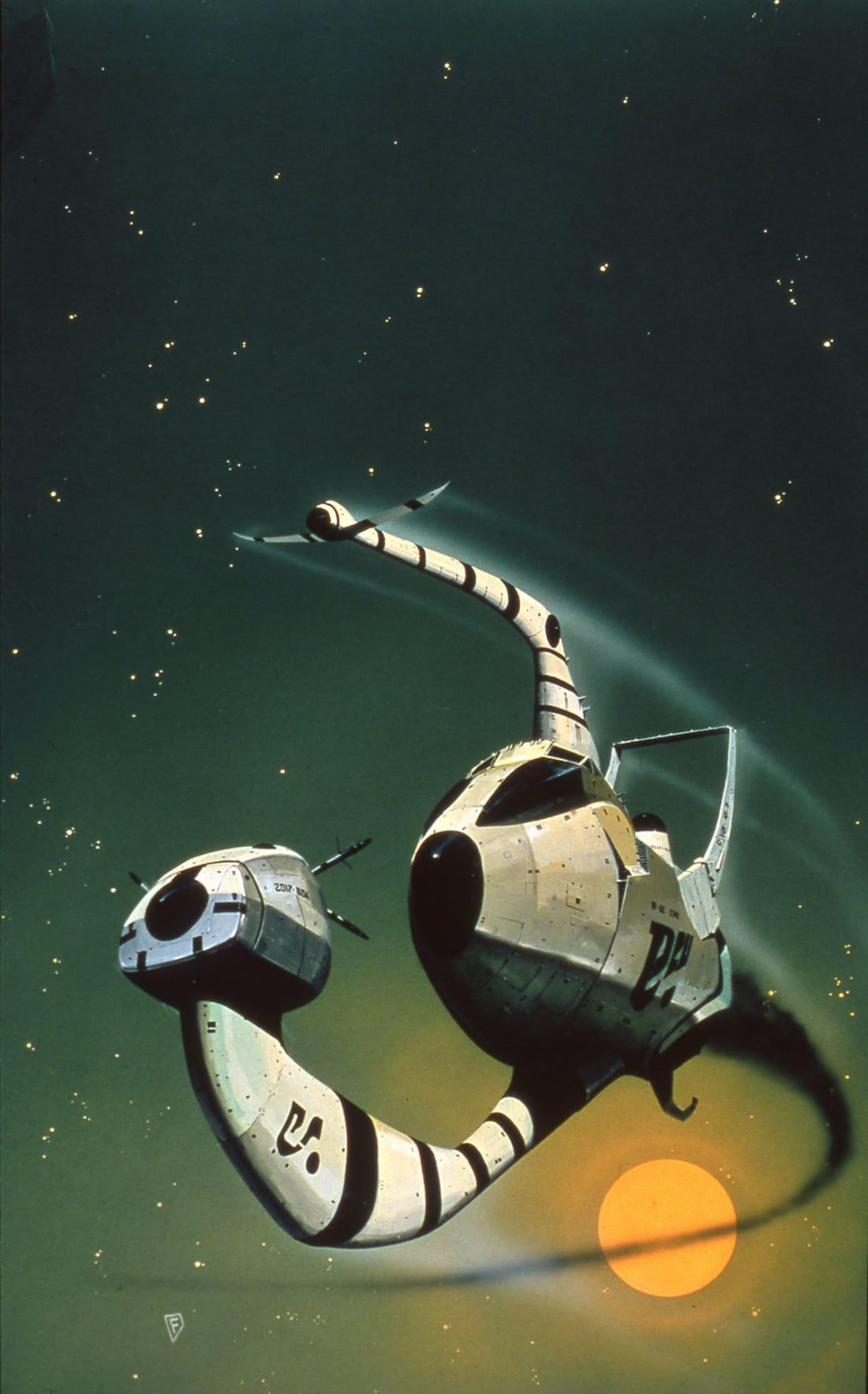 The Science Fiction Art of Edvige Faini | Concept Artist |Science Fiction Graphics
