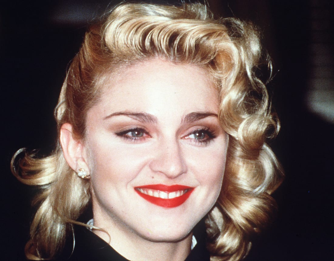 Almost madonna lost her virginity