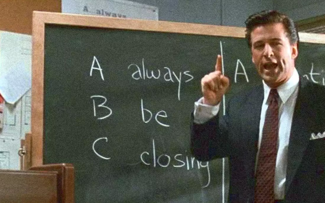Origin of 'Always Be Closing' | Journal