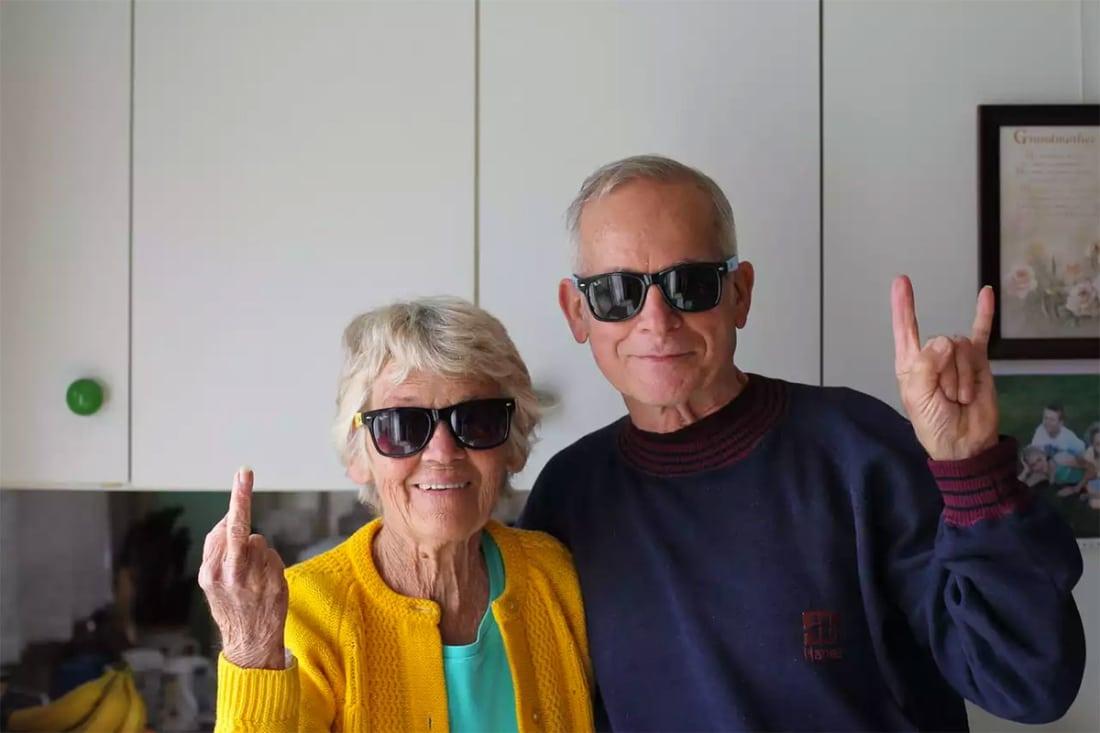 What do elderly people like