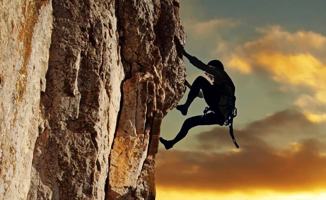 Freelance Writing and Rock Climbing