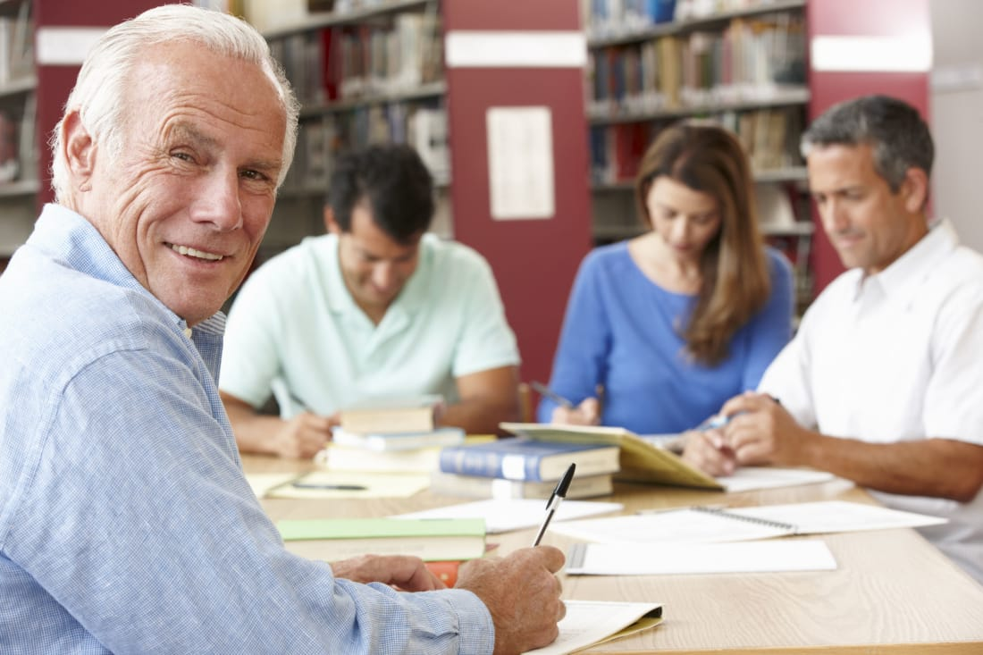 Education of adult learner think