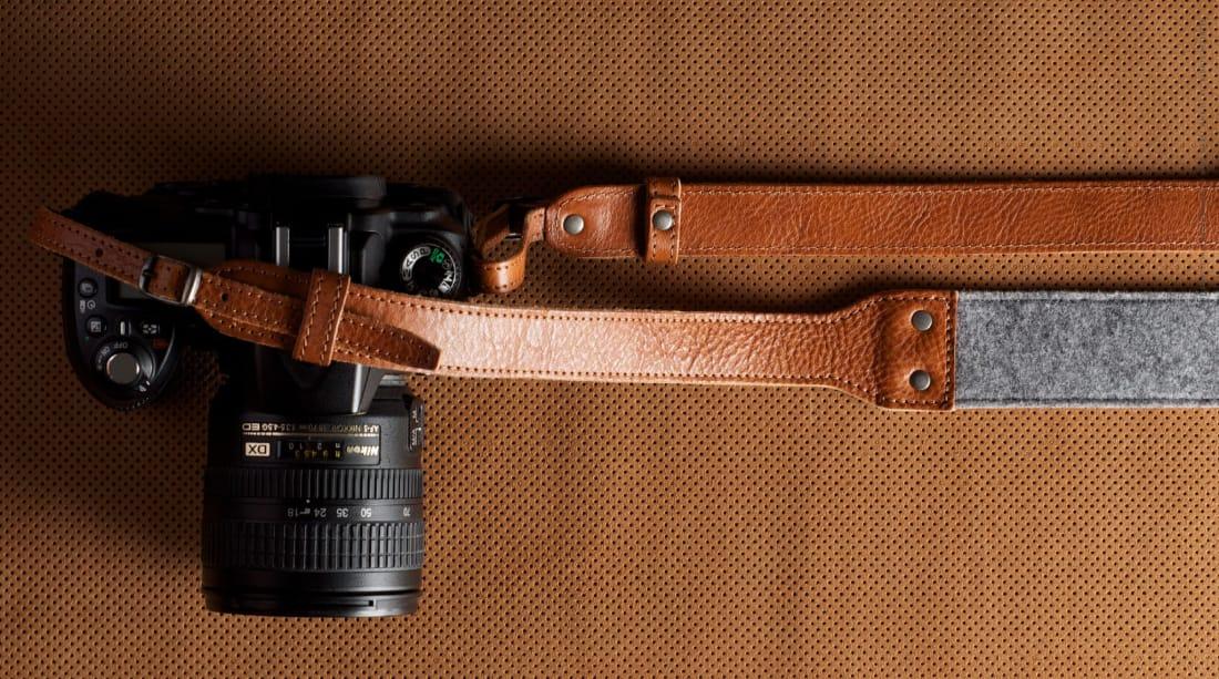Fashion style Stylish best camera strap for woman