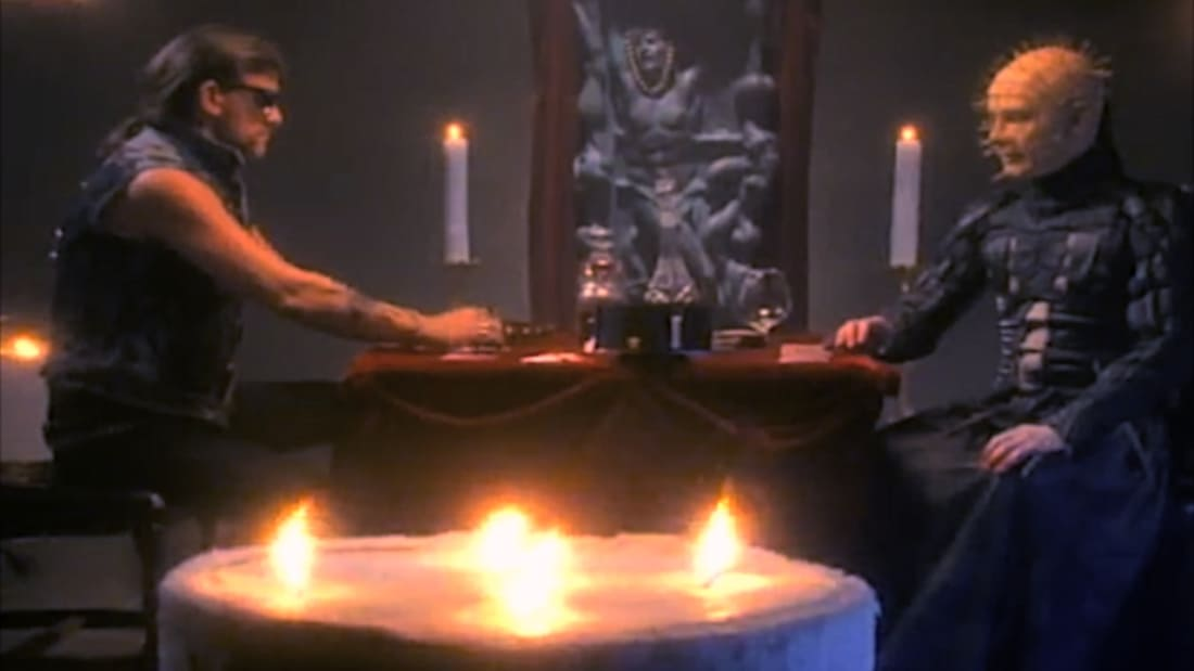 Lemmy vs Pinhead in 'Hellraiser/Motorhead' Crossover Video