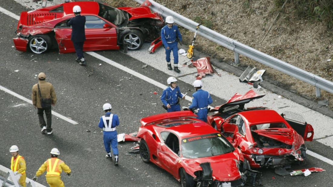 Worst Exotic Car Crashes in History | Wheel