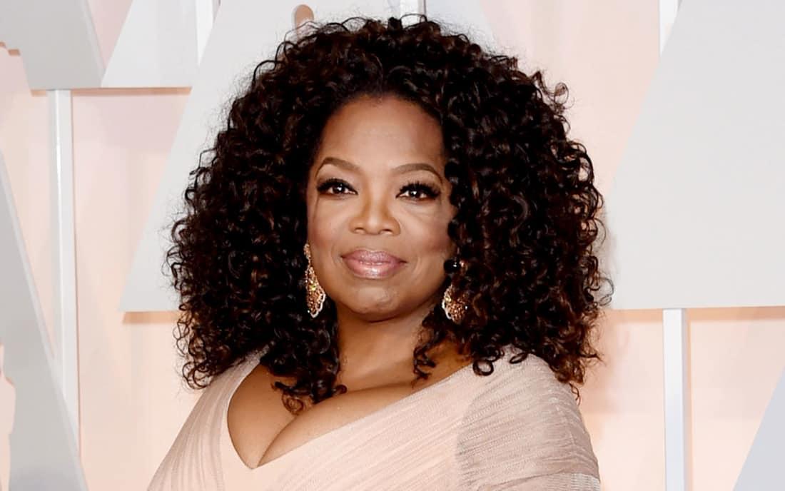 young oprah winfrey